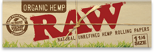 RAW Organic Hemp 1¼ gotblunt
