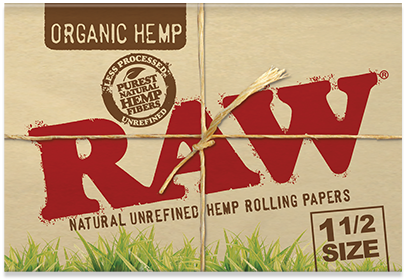 RAW Organic Hemp 1½ gotblunt