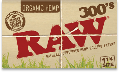 RAW Organic Hemp Creaseless 1¼ gotblunt